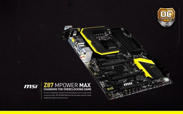 MSI Z87 MPOWER MAX 640x400