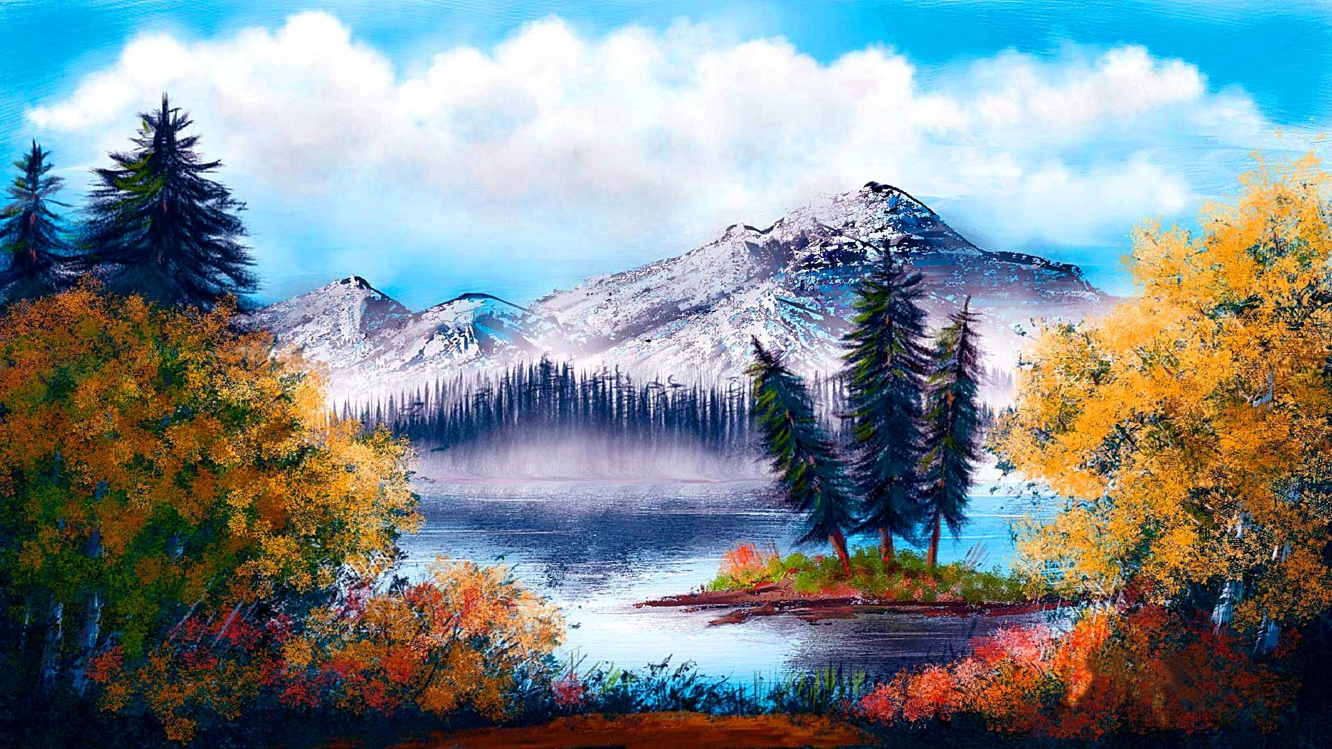 55 Landscape Painting Wallpapers   Download at WallpaperBro 1920x1080