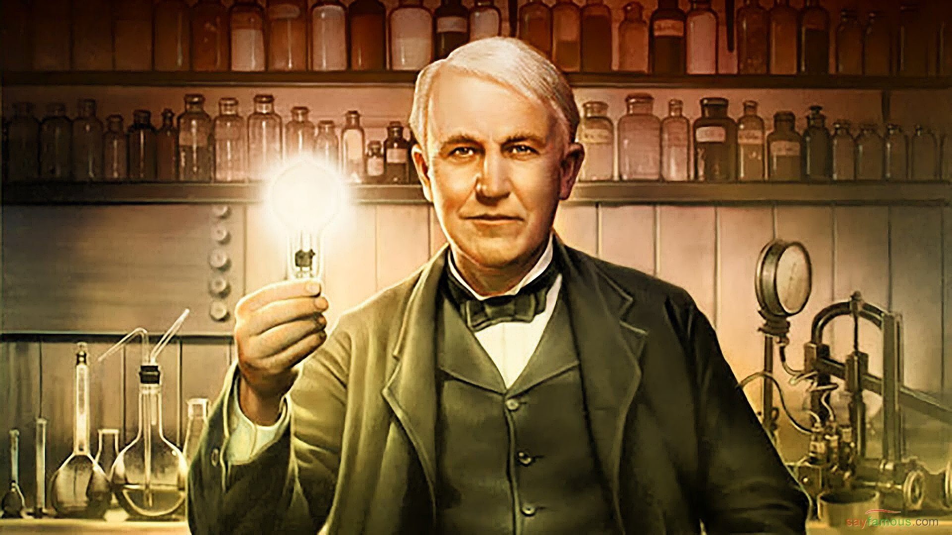 American inventor Thomas Edison HD desktop wallpaper 1   Say 1920x1080
