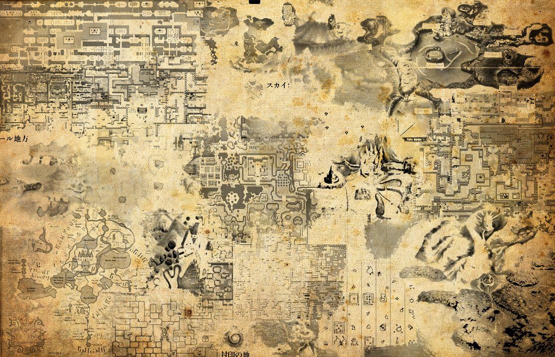 Maps of Zelda by magicwaffles123 1114x717