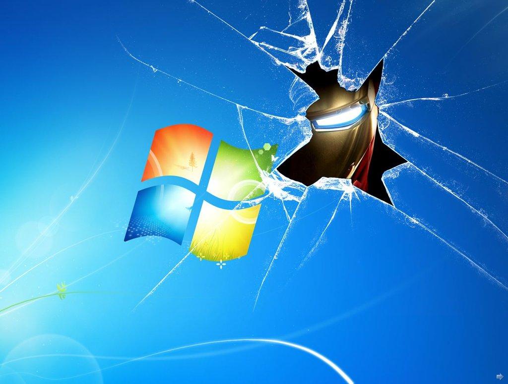 Iron Man Windows 7 Wallpaper by TigerSoul6 1024x775