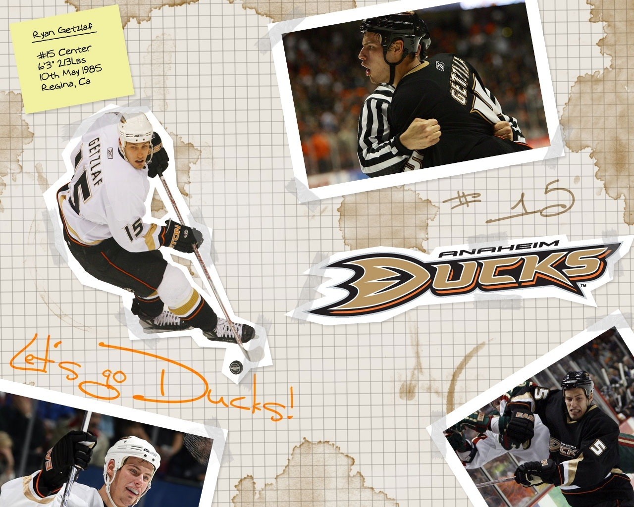 Ryan Getzlaf Ducks Wallpaper Hockeywallpapersnet Wallpaper Photo 1280x1024