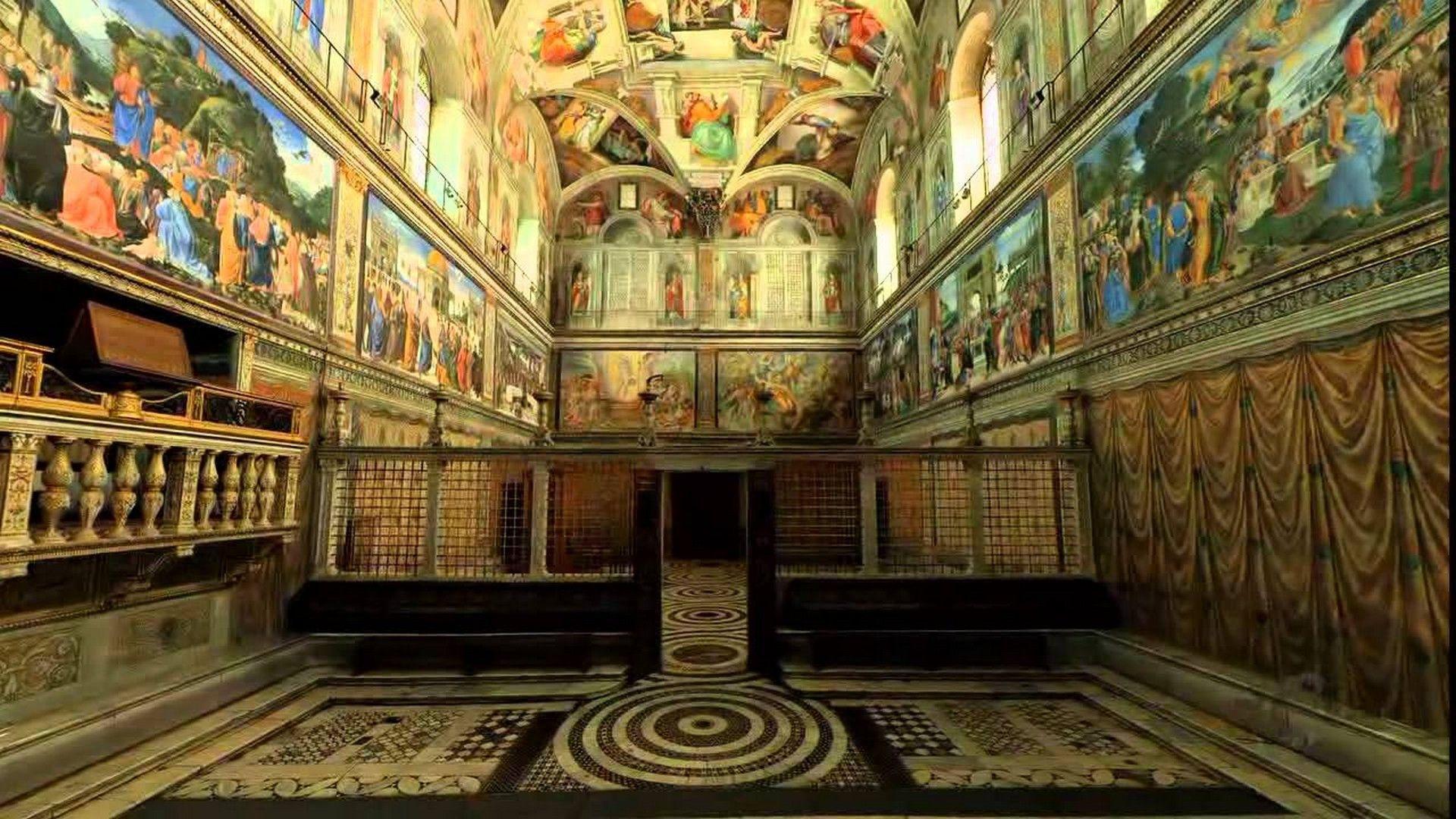 sistine chapel wallpaper Sistine Chapel wallpaper 1920x1080