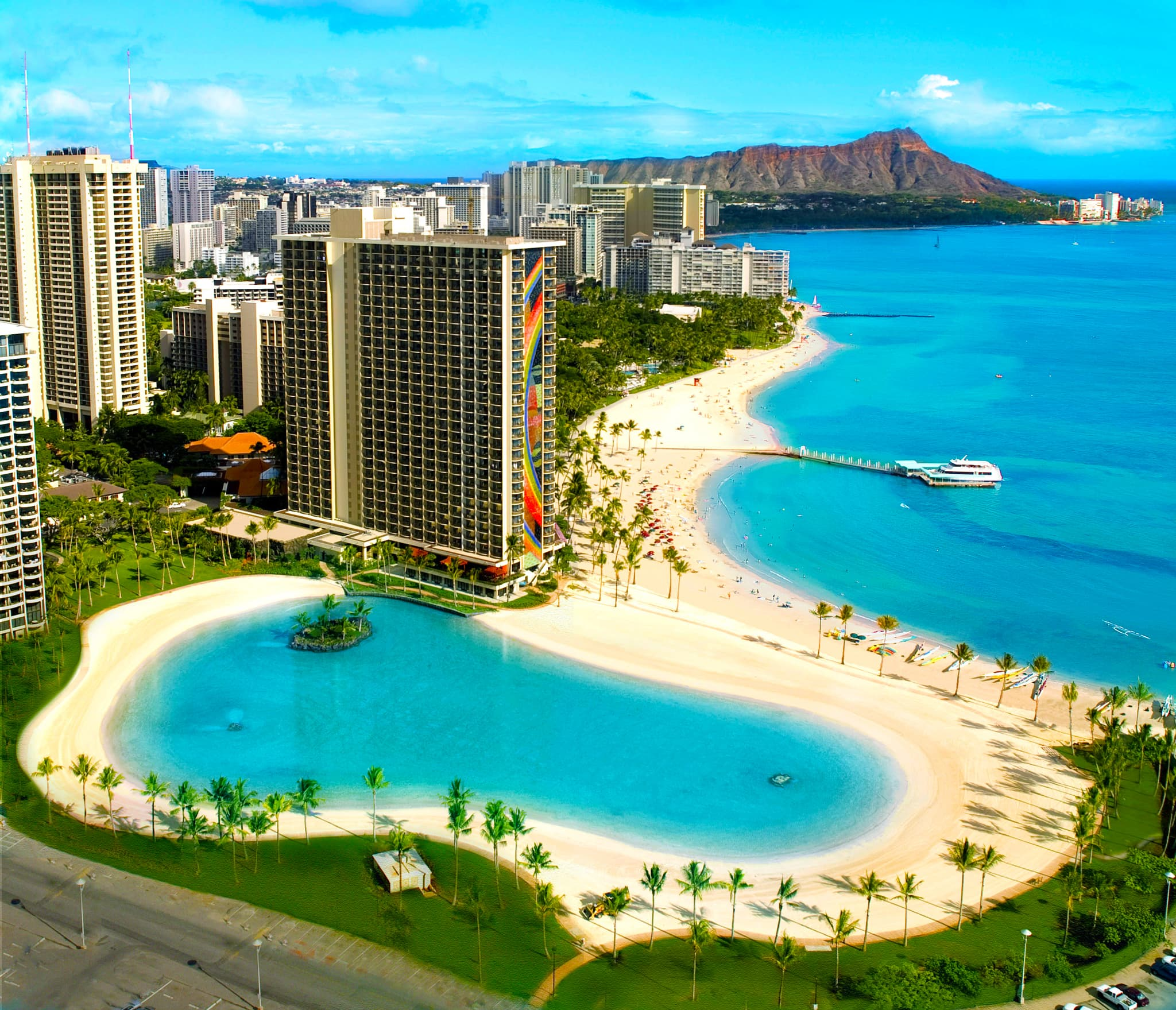 Hilton Hawaiian Village Waikiki Beach Photo Gallery 2048x1759