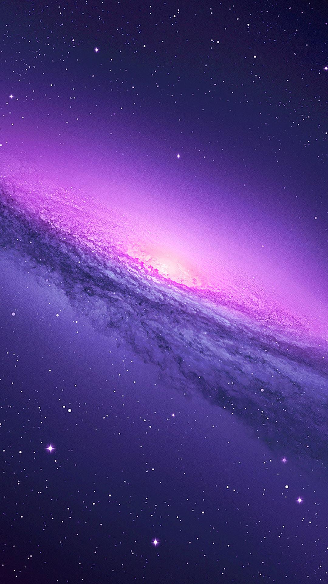 Purple Galaxy iphone 6 wallpaper ilikewallpaper com 1080x1920
