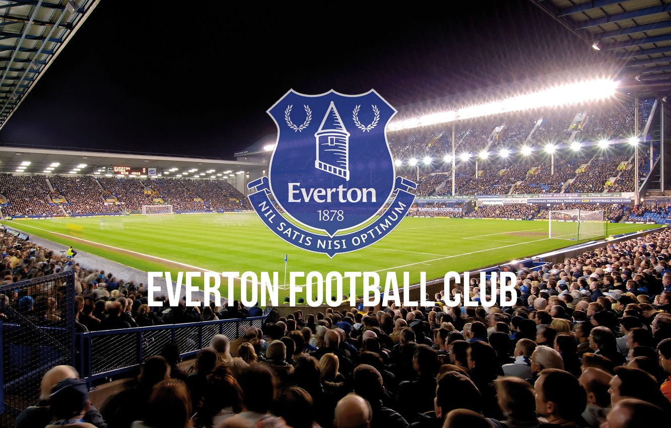 Wallpaper wallpaper sport logo stadium football Everton FC 1332x850
