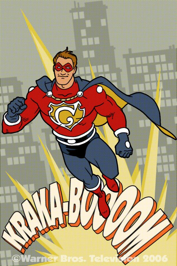 600x900px Vintage Superhero Wallpaper