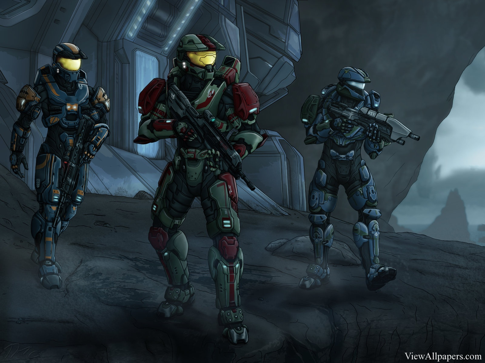 Wallpaper 2015 Halo 5 Guardians Photos For PC computers desktop 1600x1200