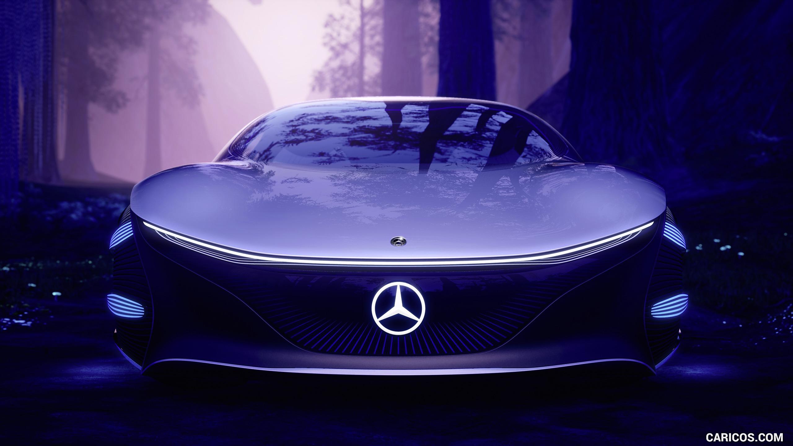2020 Mercedes Benz VISION AVTR Concept   Front HD Wallpaper 24 2560x1440