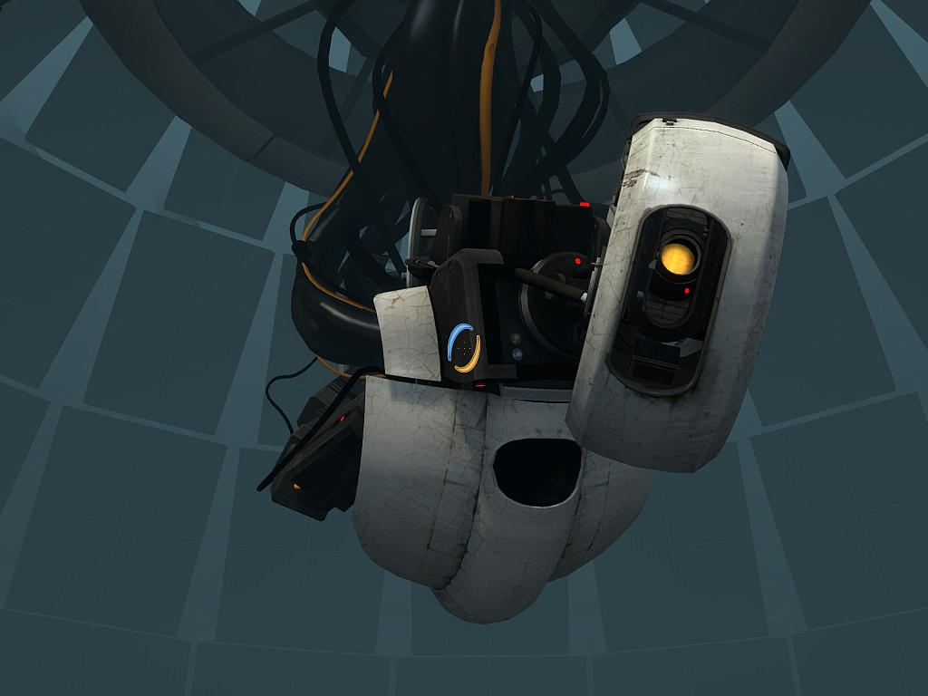 Free Download Portal 2 Glados By Half Dude 1024x768 For