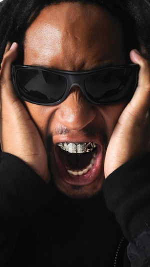 Download Wallpaper 1440x2560 Lil jon Rapper Gangster 300x533