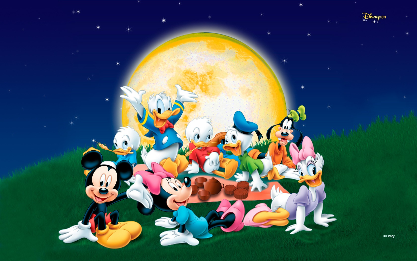 Very smart Disney Mickey Mouse And Minnie Mouse Wallpapers 1680x1050