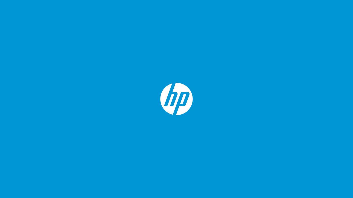 Hp logo Widescreen Wallpaper   5321 1366x768