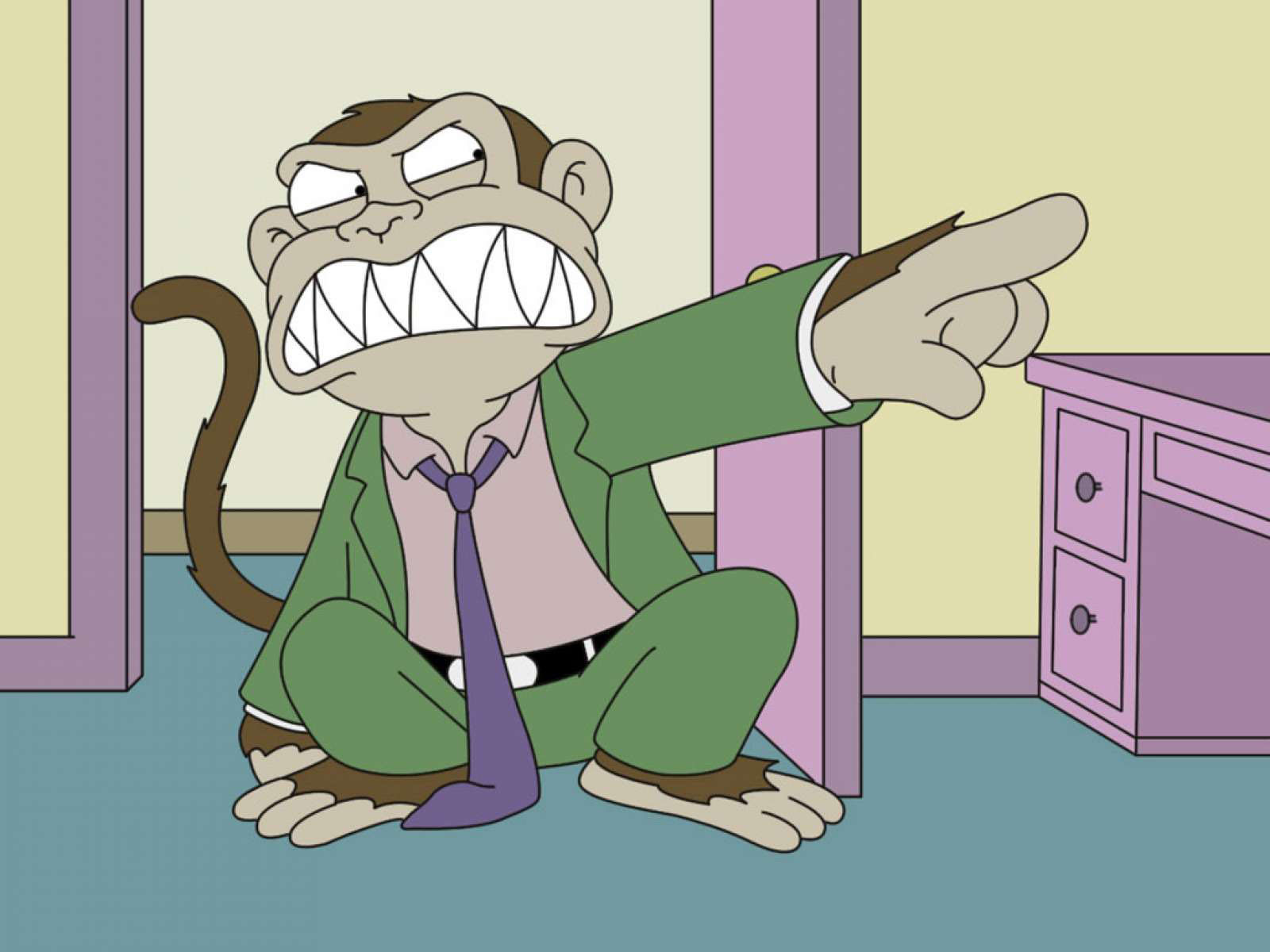 wallpapers: Evil Monkey Wallpapers
