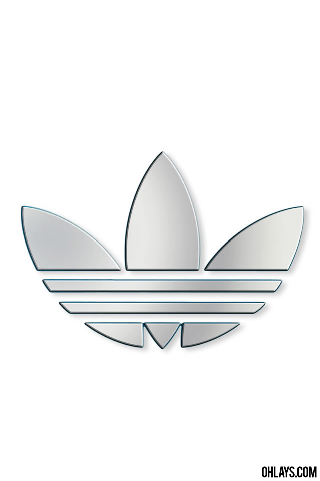 Adidas iPhone Wallpaper 5791 ohLays 640x960