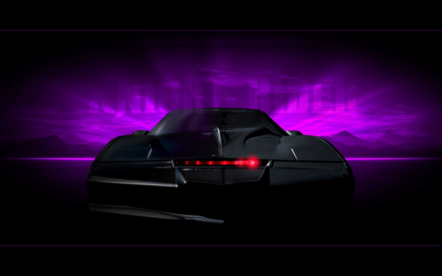 Knight Rider Wallpapaer by eNeR 1440x900