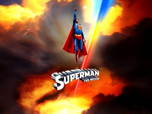 Superman The Movie Wallpaper 500x375