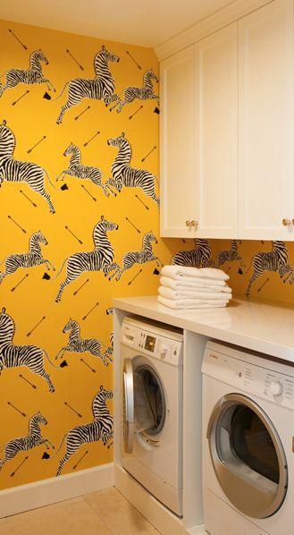 Fun Wallpaper For Laundry Room Wallpapersafari