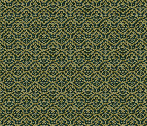 Renaissance wallpaper gold on velvet fabric   unseen 470x403