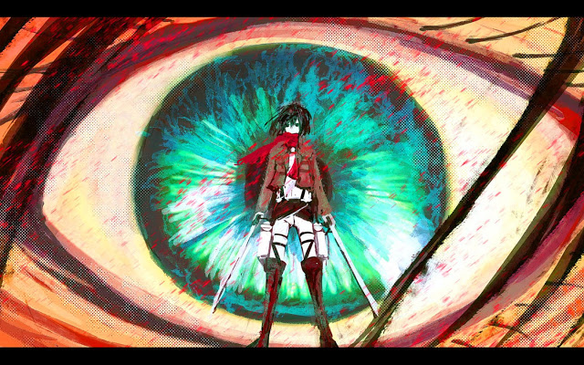 Attack on Titan Shingeki no Kyojin wallpaper hd Anime Girljpg 640x400