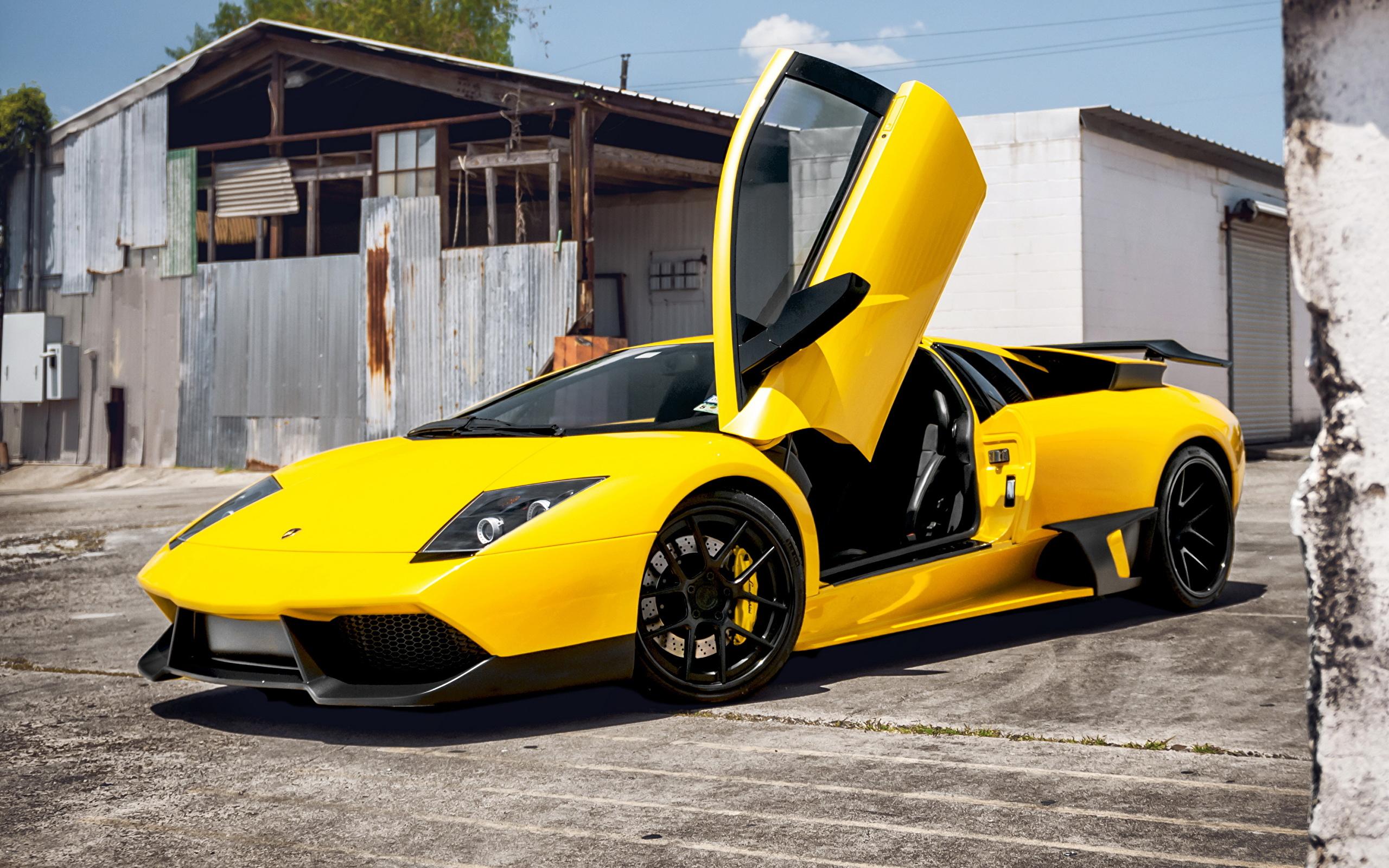 Yellow Lamborghini Murcielago Wallpaper Wallpapersafari