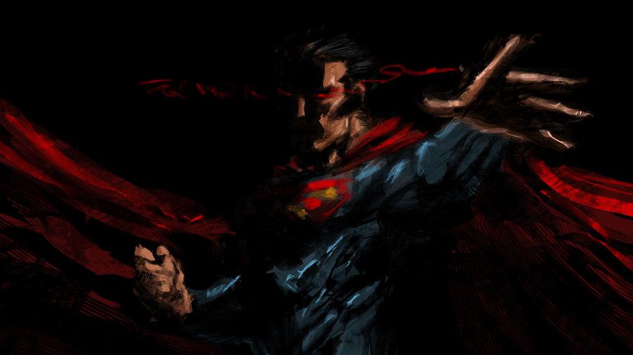 Dark Superman Wallpaper 900x506