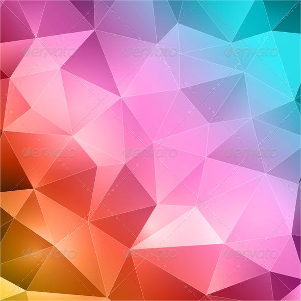 Geometric Abstract Wallpaper