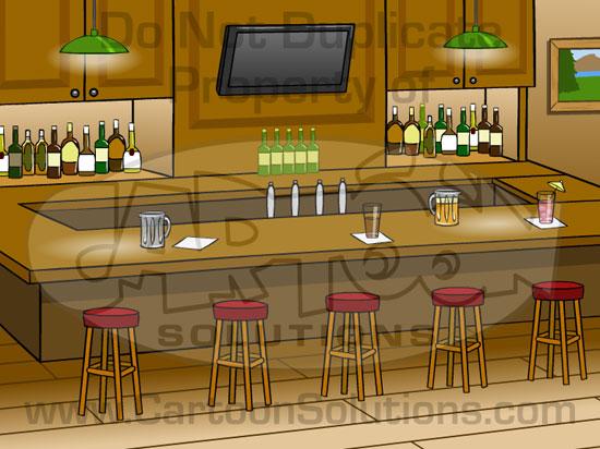 Cartoon Solutions Photoshop Backgrounds BarPub [Photoshop] 550x412