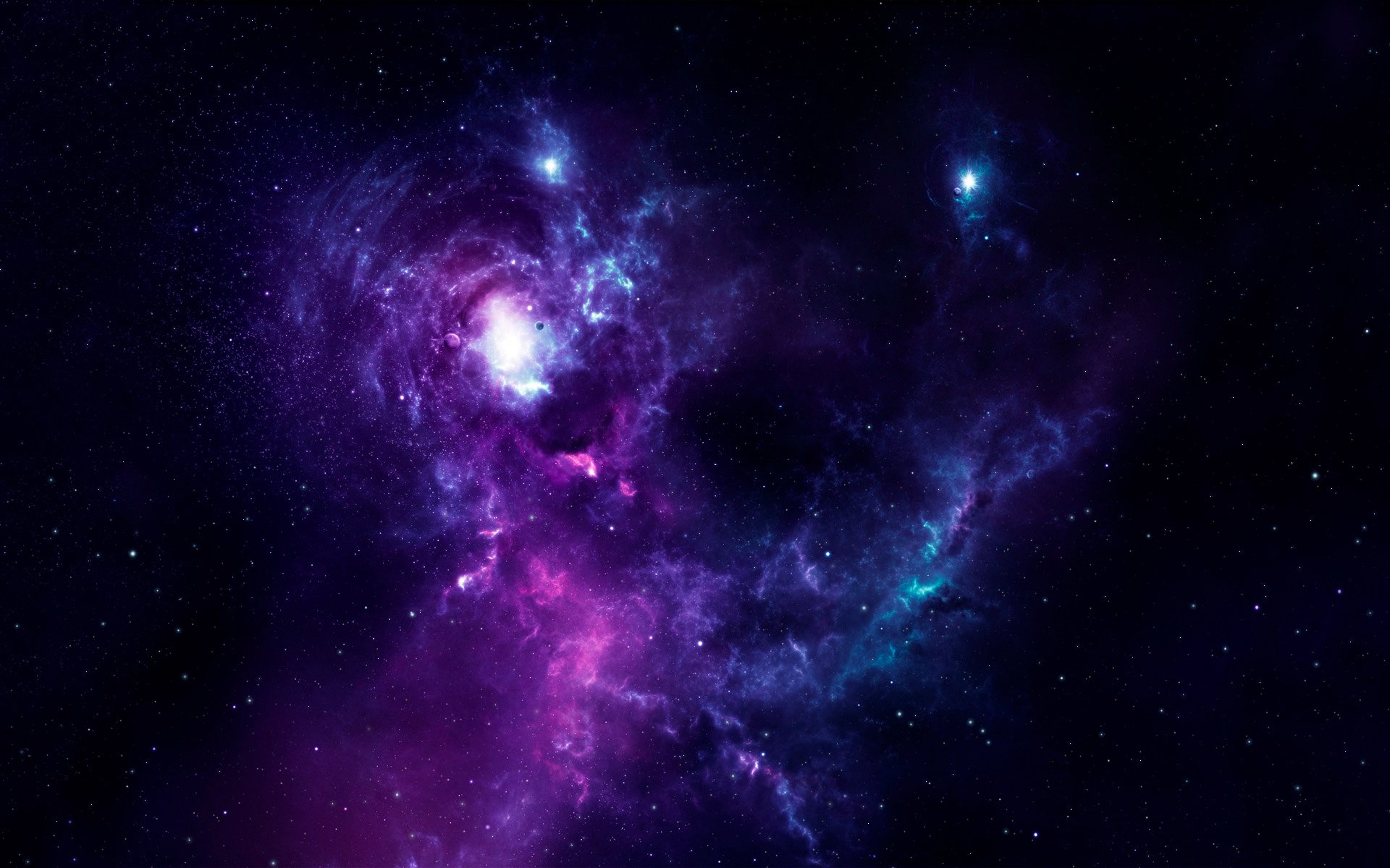 space awesome wallpaper freelancah nebula wallpapers room evera 1920x1200