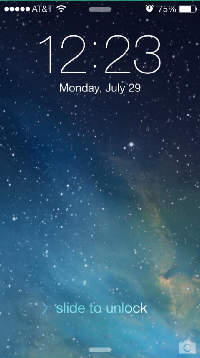 iOS 7 Beta 4 Brings Tweaked Lock Screen UI No More Confusing Up Arrow 680x1214