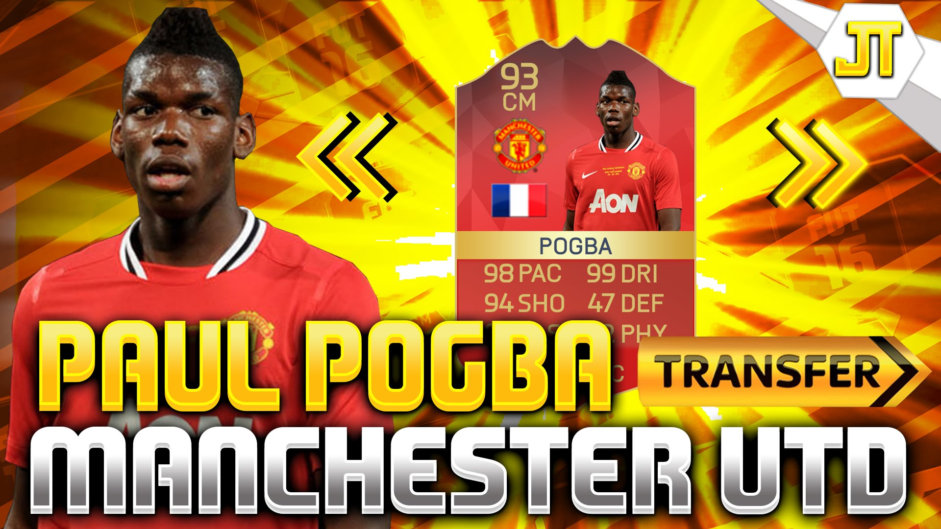 Paul Pogba Wallpaper 2016 Manchester United Spieler Bild Idee 1920x1080