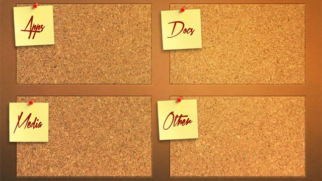 Your Desktop Neat and Tidy With These Built in Organization Wallpapers 640x360