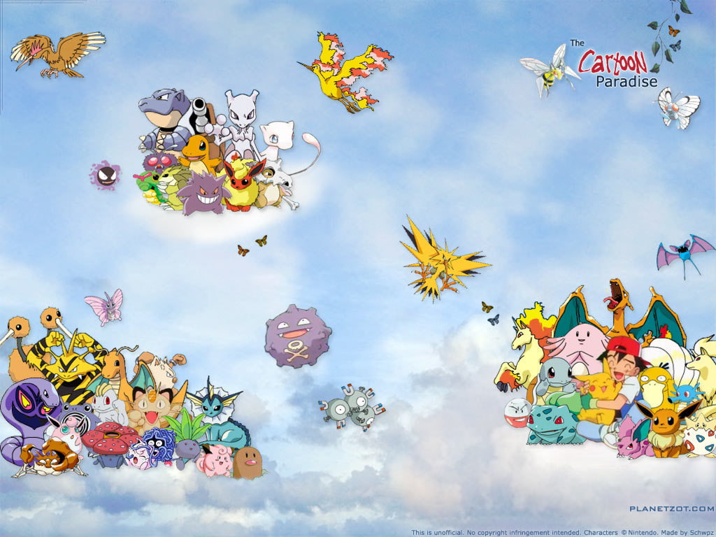 Pokemon Wallpapers HD Wallpapers Early 1024x768
