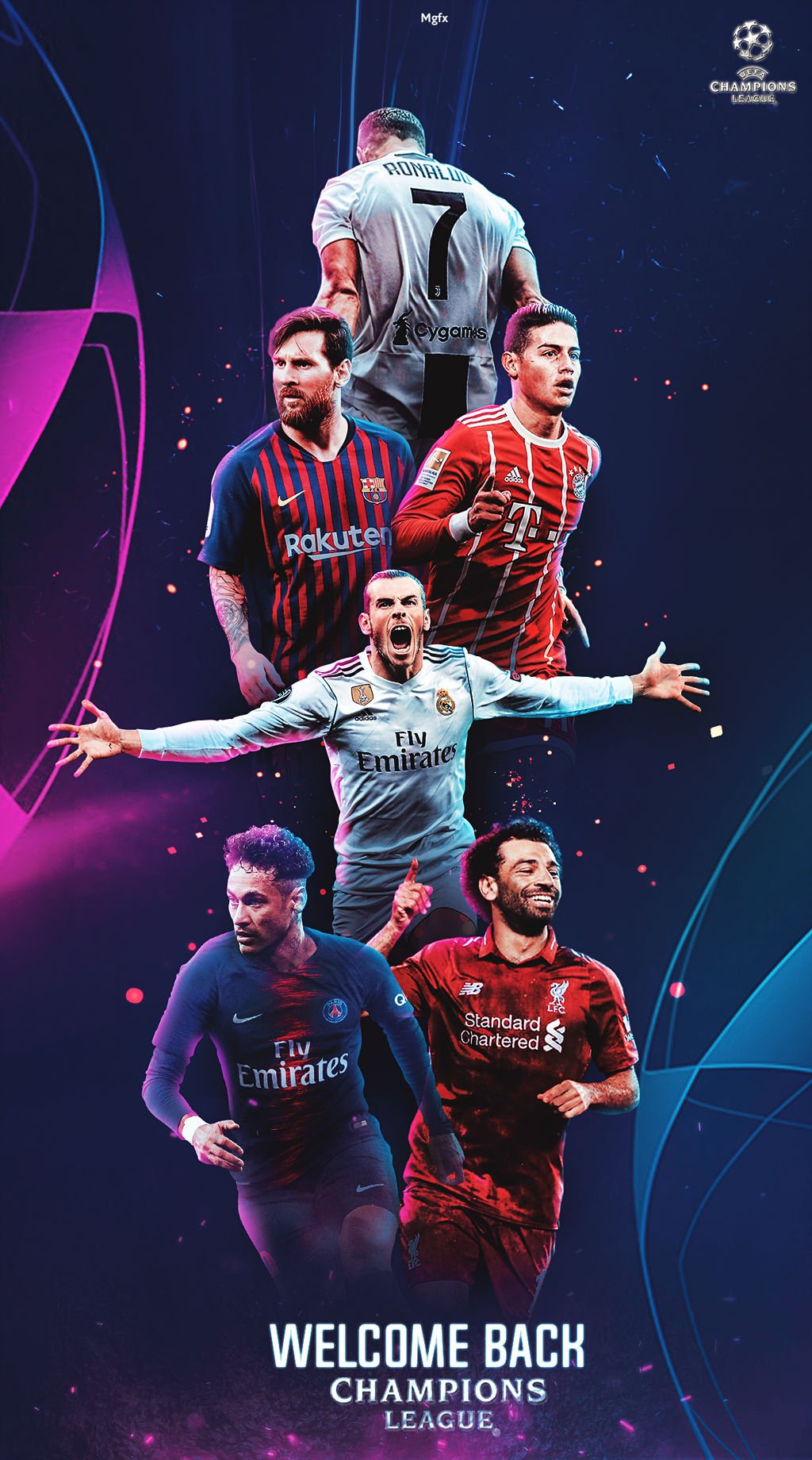 wallpaper uefa champions league lockscreen 2019 by 1024x1840