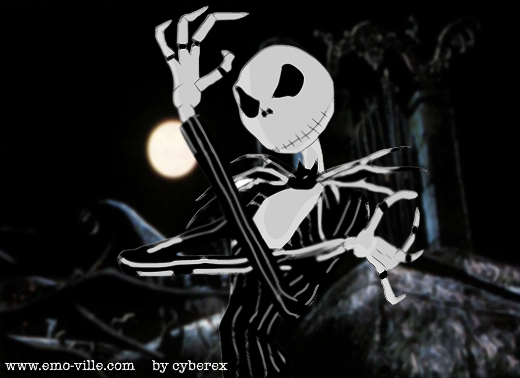 Jack Skellington Wallpaper HD - WallpaperSafari