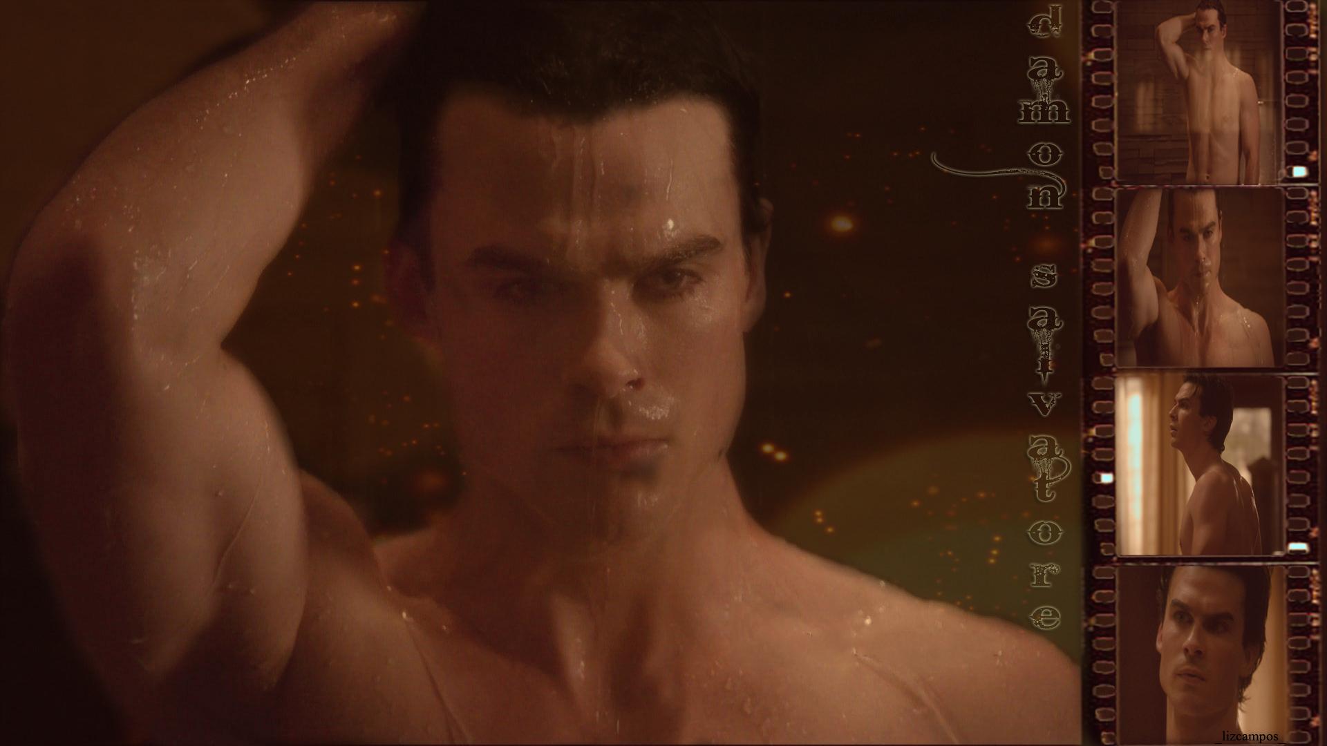 Damon Salvatore   The Vampire Diaries Wallpaper 19034378 1920x1080