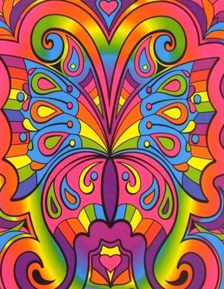 Lisa frank butterfly background WALLPAPER JUNK Pinterest 456x588
