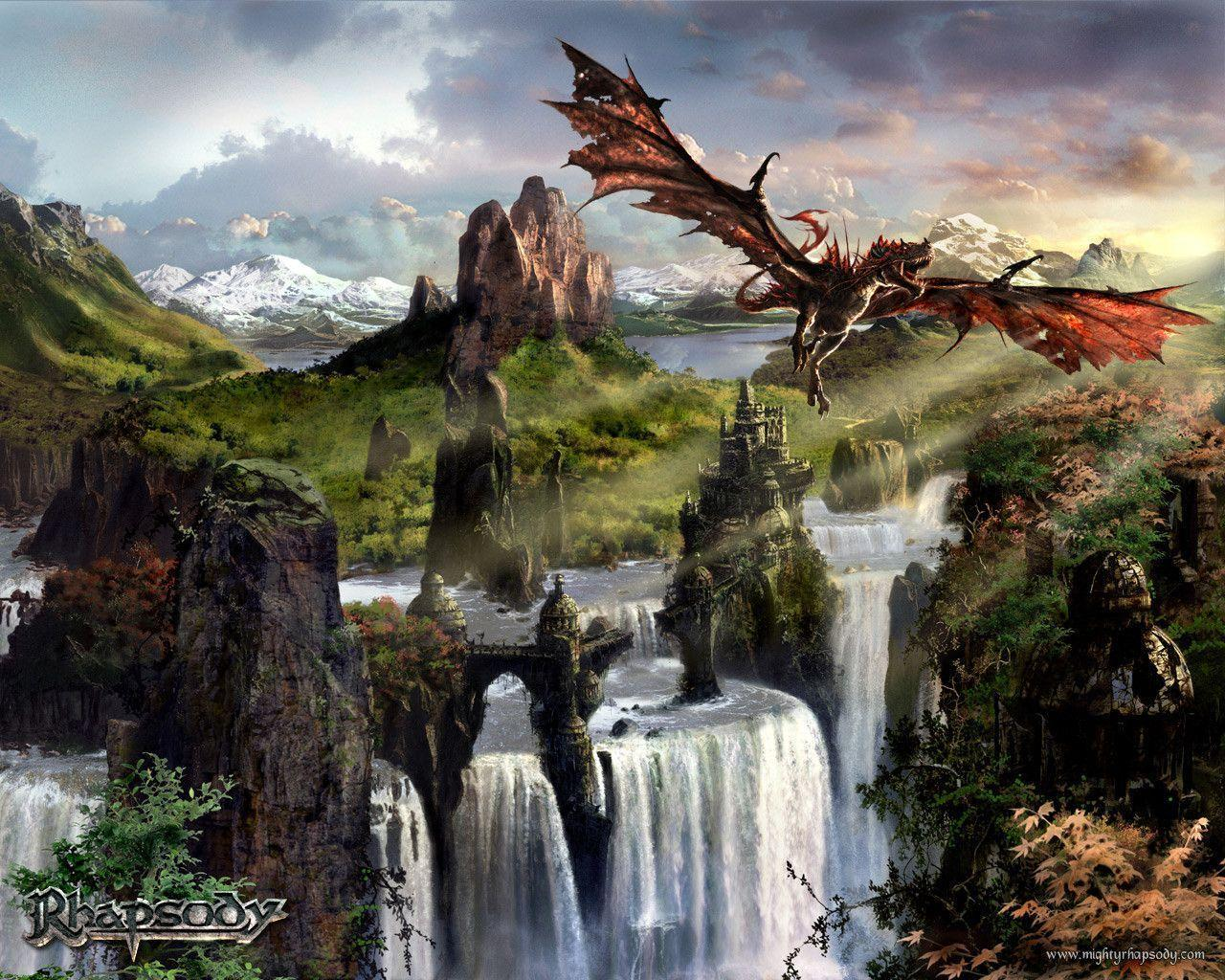 Flying Dragon Wallpapers 1280x1024