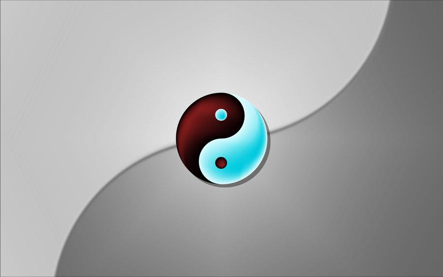 Ying Yang Wallpaper by Kentonis 900x563
