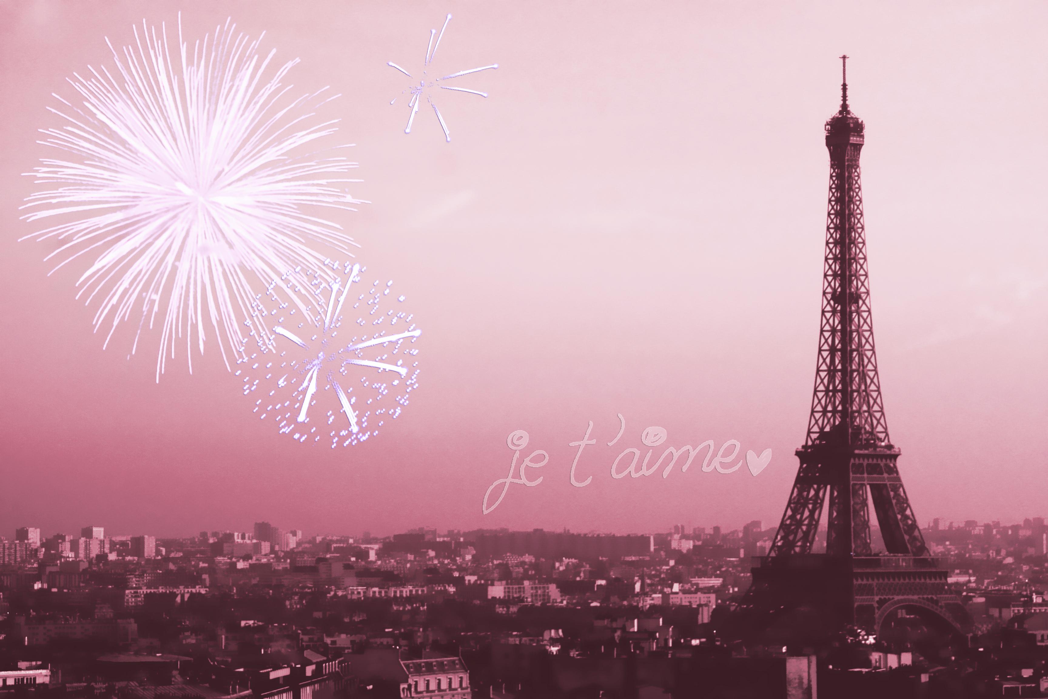 Pink Paris Wallpaper Wallpapersafari