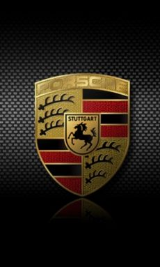 Download Porsche Logo wallpapers to your cell phone   logo 230x383