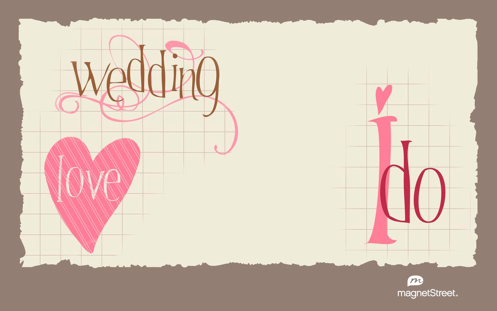 Freebie Friday Wedding Love WallpaperTruly Engaging Wedding Blog 1920x1200