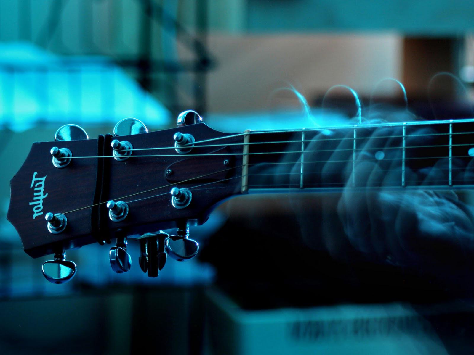 Acoustic guitar desktop wallpaper