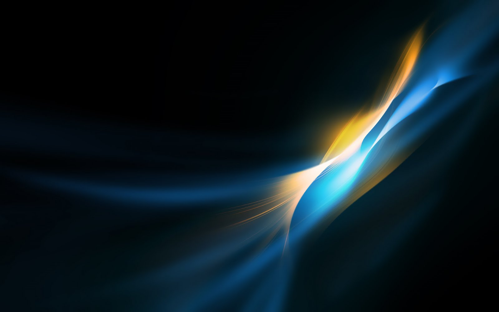 Abstract Blue Wallpaper   Black Background   Poze Imagini Desktop 1600x1000