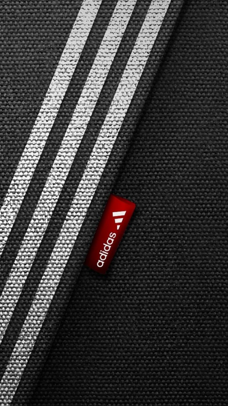 Download Wallpaper 750x1334 Adidas Brand Logo Sports 750x1334