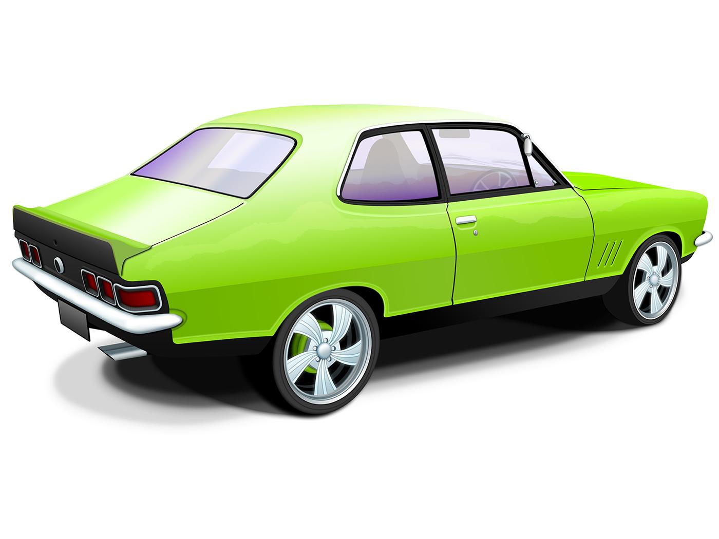 Australian Muscle Car Classic Wallpaper Download 1400x1050