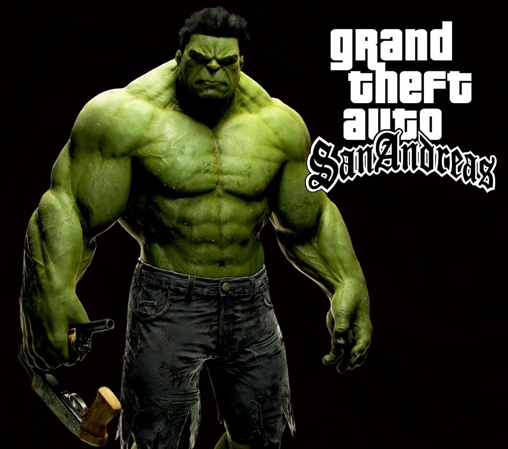 Free download GTA SA HULK MOD download Grand Theft Auto San Andreas