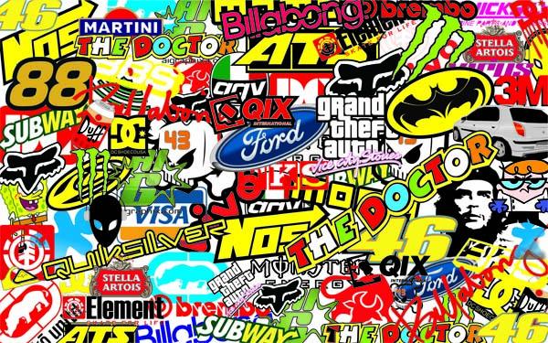 sticker bomb wallpaper wallpapersafari