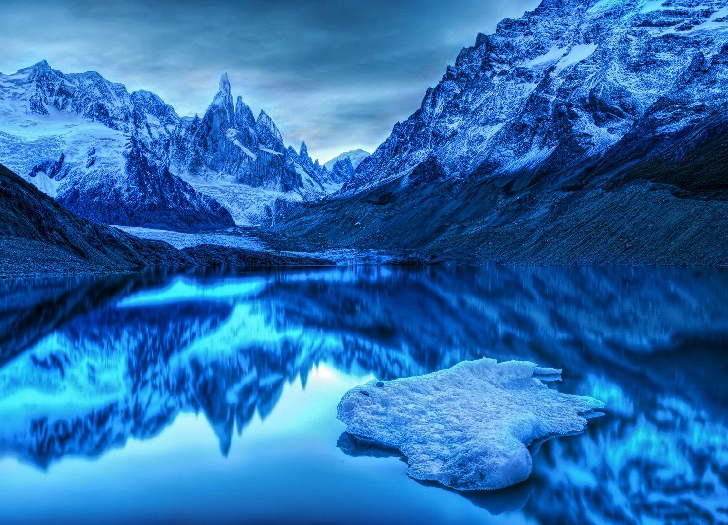 Ice Blue Kingdom wallpaper 1497x1080