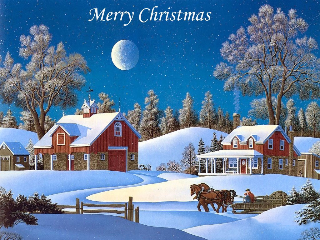 Live Christmas Wallpaper Desktop Merry christmas wallpapers 1024x768